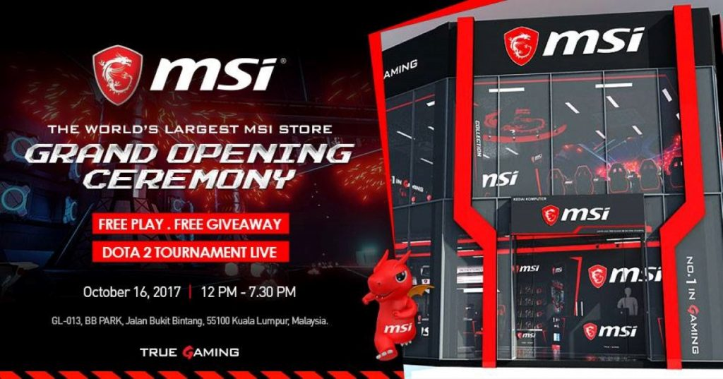MSI To Launch Concept Store At BB Park - Set To Be The World's Largest! 23