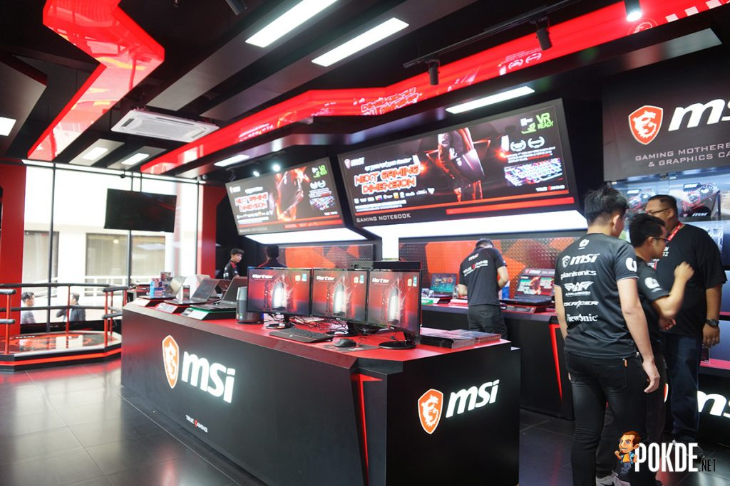 World's largest MSI Store is open now in Malaysia! Experience all of MSI and weekly gaming tournaments here! 23
