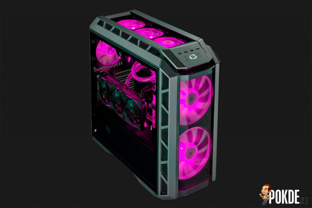 MasterCase H500P launched in Malaysia; optimized for high airflow with dual 200mm RGB fans 28