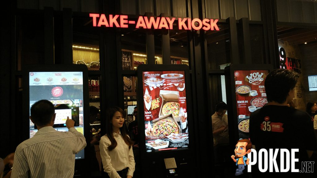 Pizza Hut goes digital – Robots, AR, Self service kiosk now in Malaysia 25