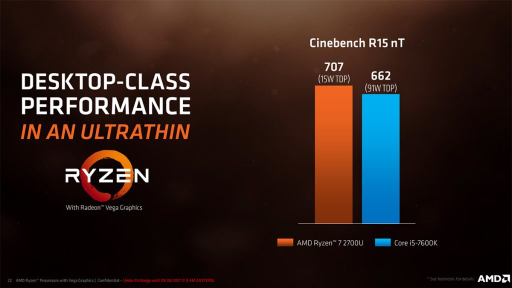 Zen meets Vega in AMD's Zen-Based APUs; nearly 3x better performance than Kaby Lake Refresh! 19