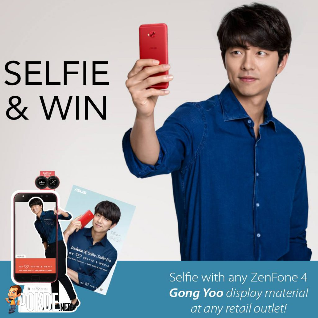 Selfie with Gong Yoo to win a ZenFone 4 Selfie Pro! Gong Yoo fans, here's your chance! 22