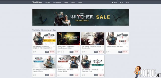 Witcher Game Series on Sale Now to Celebrate Series' 10th Anniversary - Up to 85% off! 26