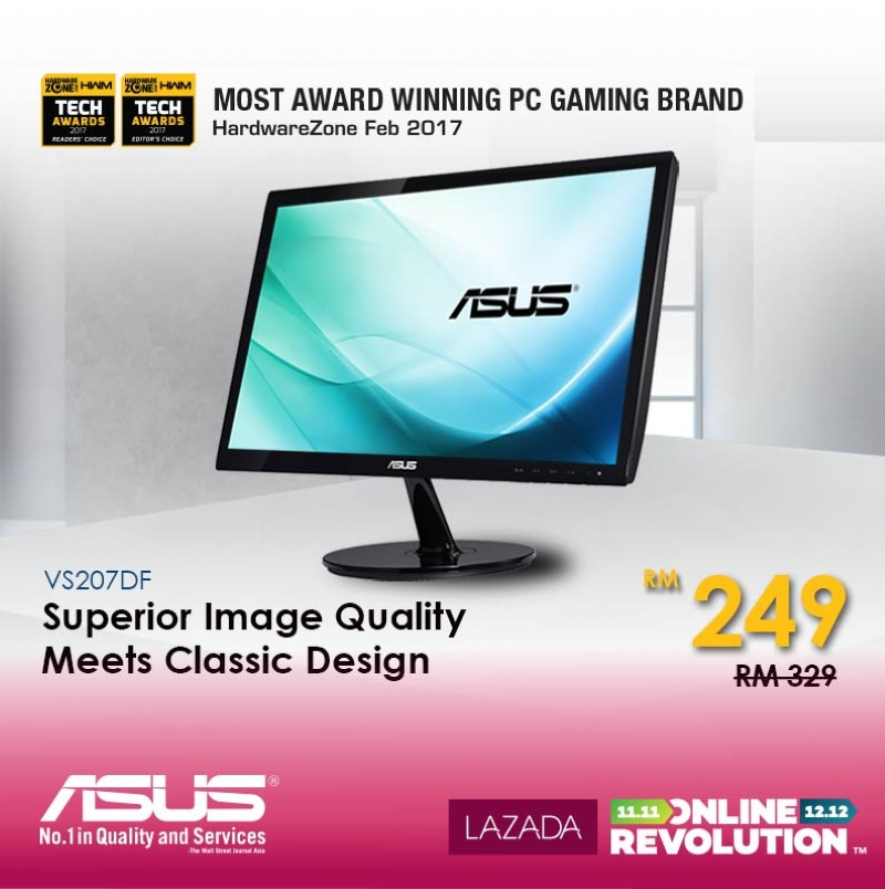 ASUS Joins The Online Revolution Sale - Get Networking Solutions, Monitor, And Mouse On Special Price! 31