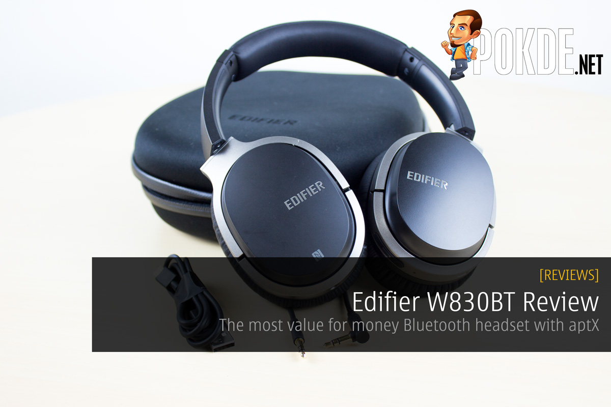 edifier w830bt review the most value for money bluetooth. Black Bedroom Furniture Sets. Home Design Ideas