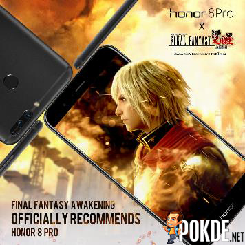 Honor 8 Pro Is The Official Recommended Device for FINAL FANTASY Awakening 20