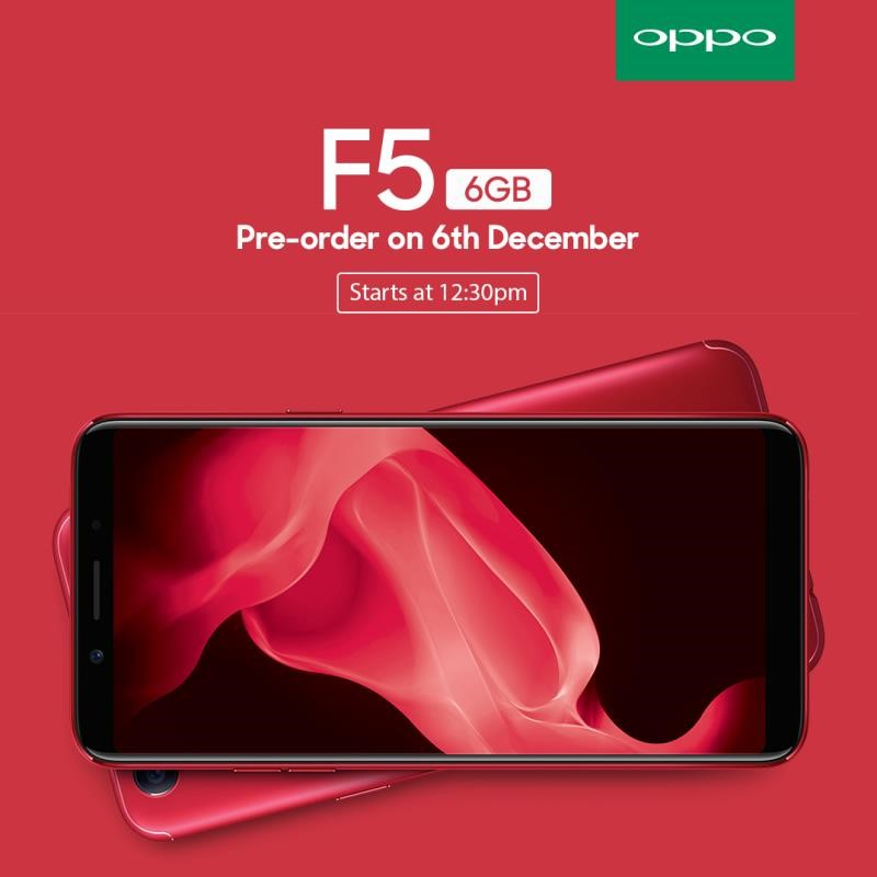 OPPO F5 Red Edition Set For Launch - Coming This 6 December 2017! 22