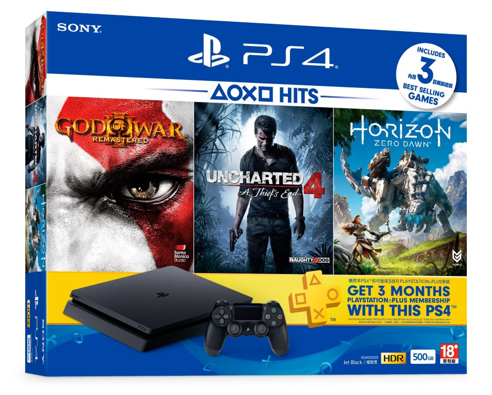 Sony To Launch New Playstation 4 Hits Bundle Pack; Filled With Adventure And 3 Months PS Plus Subcription! 20