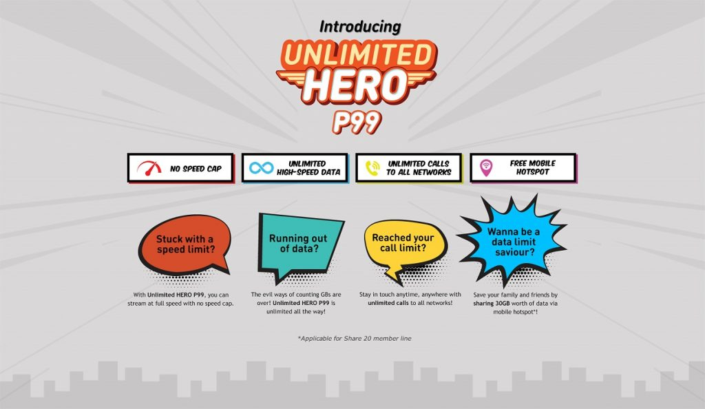 U Mobile Launch Unlimited HERO P99 - Get Unlimited Data For Just RM99! 30