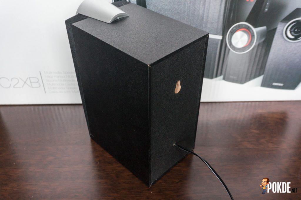 Edifier C2XB 2.1 multimedia speaker review; great looks, average sound 39