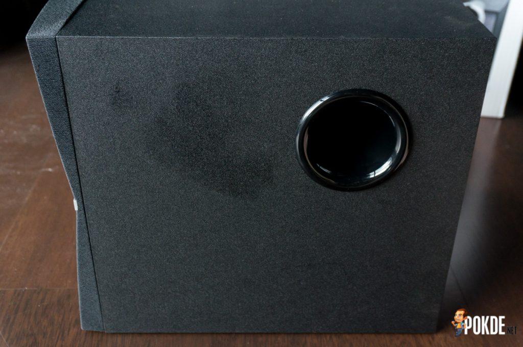 Edifier C2XB 2.1 multimedia speaker review; great looks, average sound 41