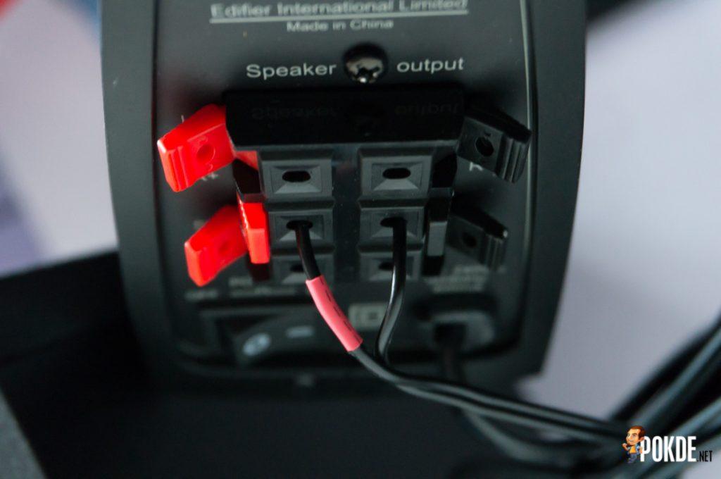 Edifier C2XB 2.1 multimedia speaker review; great looks, average sound 43