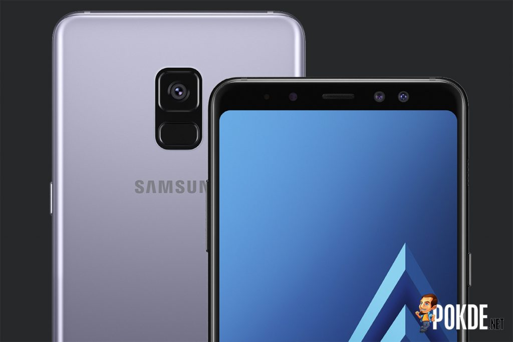 Samsung Galaxy A8(2018) and A8+(2018) launched; two front cameras but the rear camera is a lonely one 27