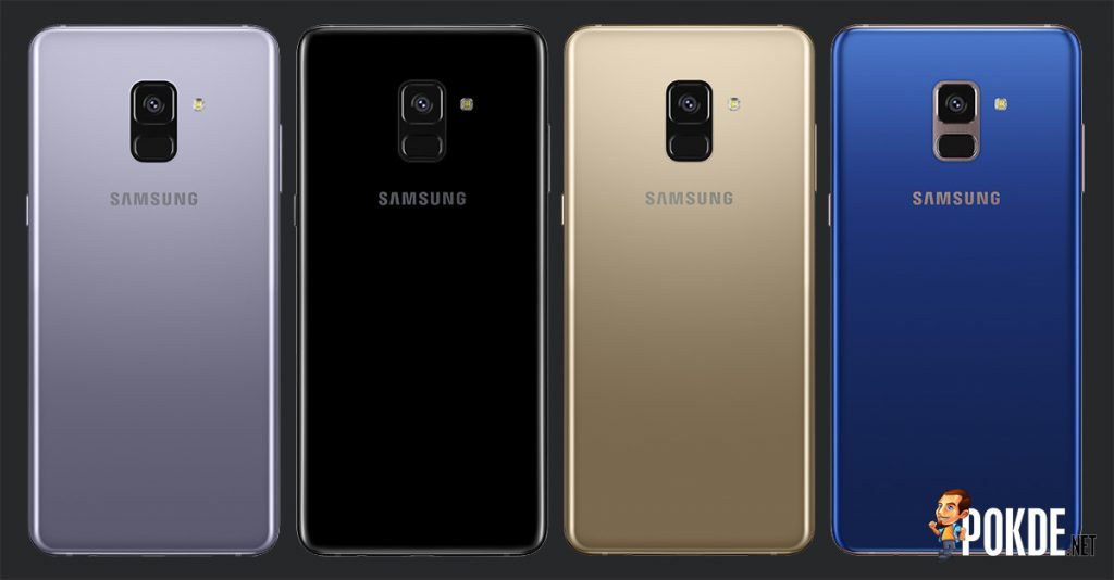 Samsung Galaxy A8(2018) and A8+(2018) launched; two front cameras but the rear camera is a lonely one 29