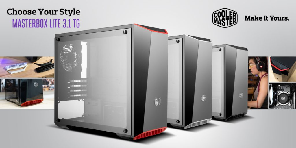 Cooler Master Freshens Up Masterbox Lite Series - RGB Edition And New Tempered Glass! 24
