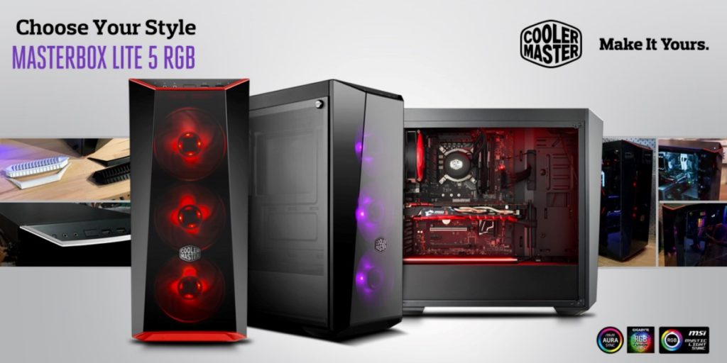 Cooler Master Freshens Up Masterbox Lite Series - RGB Edition And New Tempered Glass! 23