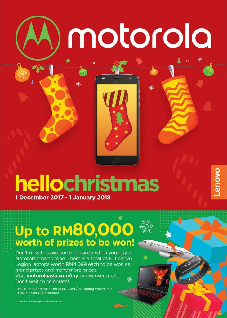 Motorola Says Hello Christmas - Over RM80000 Of Prizes To Be Won! 21