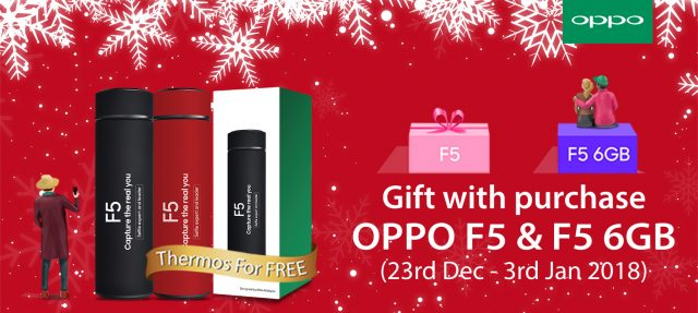 Get An OPPO F5 Or OPPO F5 6GB And Get A Free Thermo Worth RM 99! 28