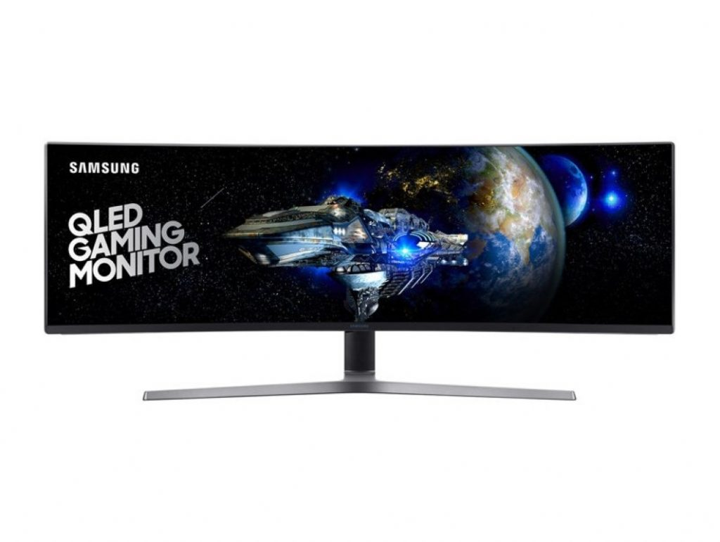 """Samsung Unveils CHG90 Monitor - World's First 49"""" 32:9 Ultra-Wide Gaming Monitor! 19"""