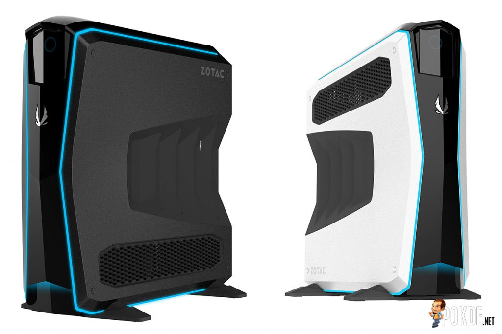 ZOTAC MEK1 ultra-slim gaming desktops; i7 7700 and GTX 1070 Ti in a compact package! 27