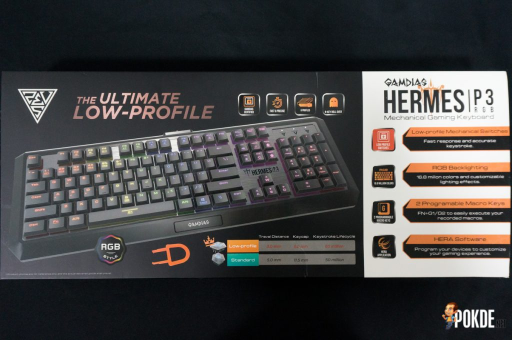 Gamdias Hermes P3 RGB mechanical gaming keyboard review; the fastest mechanical keyboard on the market? 24
