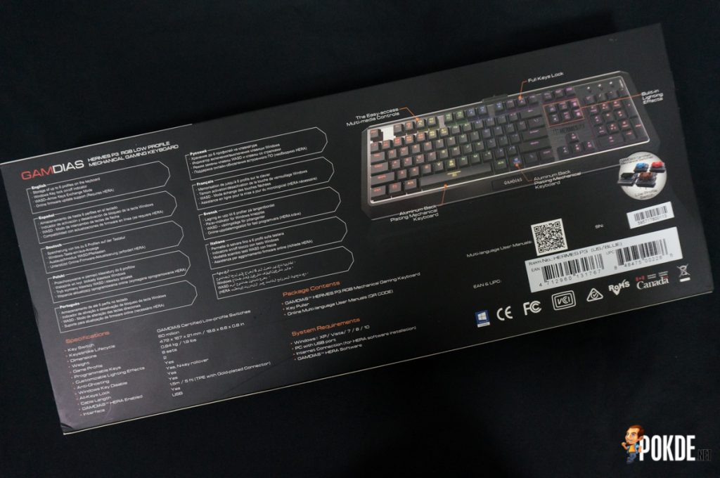 Gamdias Hermes P3 RGB mechanical gaming keyboard review; the fastest mechanical keyboard on the market? 25