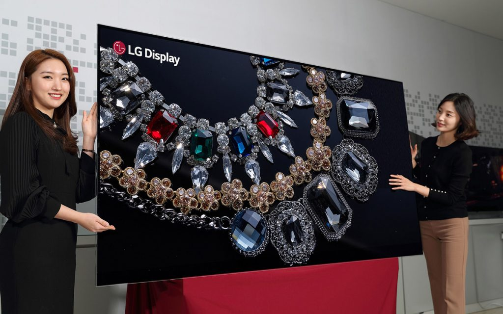 LG Tease 88-Inch 8K OLED Display TV - A World's First! 25