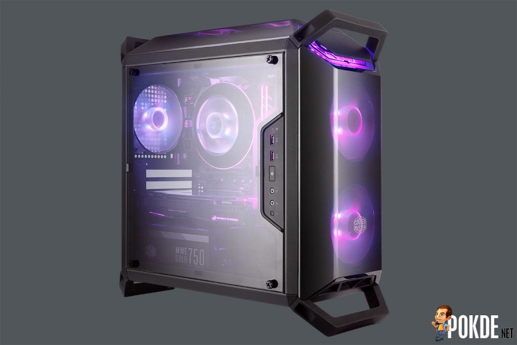 [CES2018] Cooler Master unleashes barrage of new cases; a case for everyone! 30