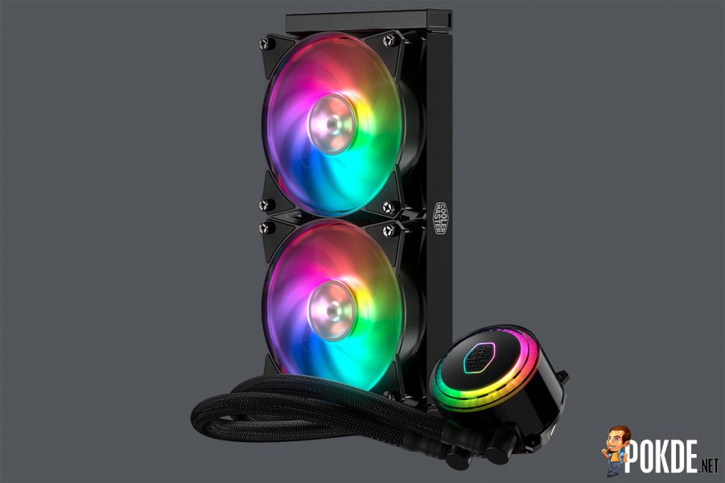 [CES2018] RGB cooling is the name of the game for Cooler Master; latest coolers to feature addressable RGB LED illumination 25