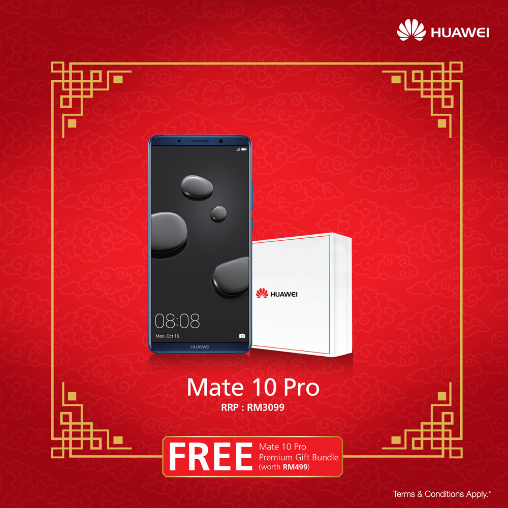 HUAWEI announces Chinese New Year promos; get exclusive merchandise worth up to RM499 with your new HUAWEI smartphone! 22