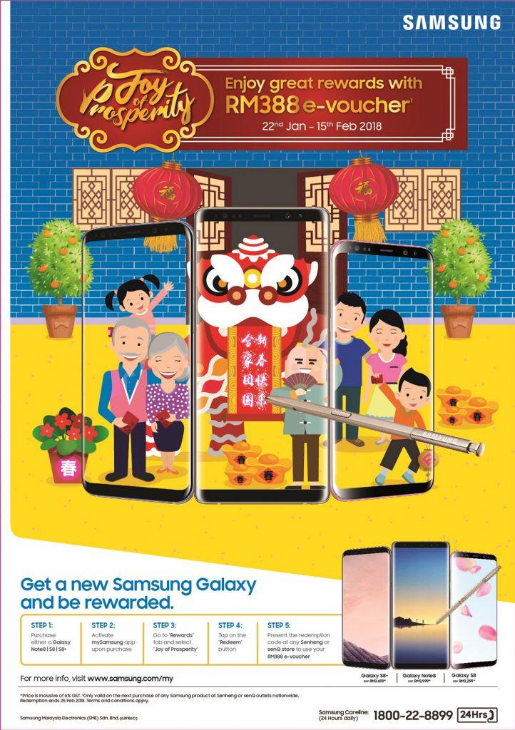 Samsung Joy Of Prosperity Smartphone Promo - Get Vouchers Worth RM388! 21