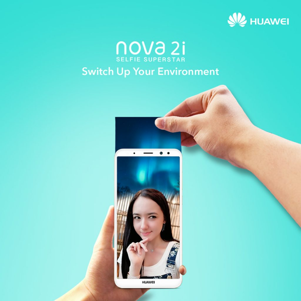 HUAWEI nova 2i Users Now Comes With Face Unlock And AR Lens - Joining The Trend! 20