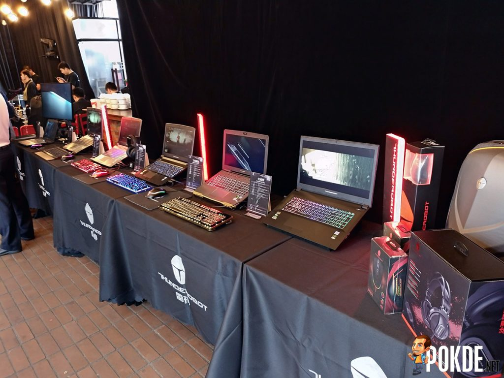 THUNDEROBOT lands in Malaysia — 4 new laptops, with more to come 24