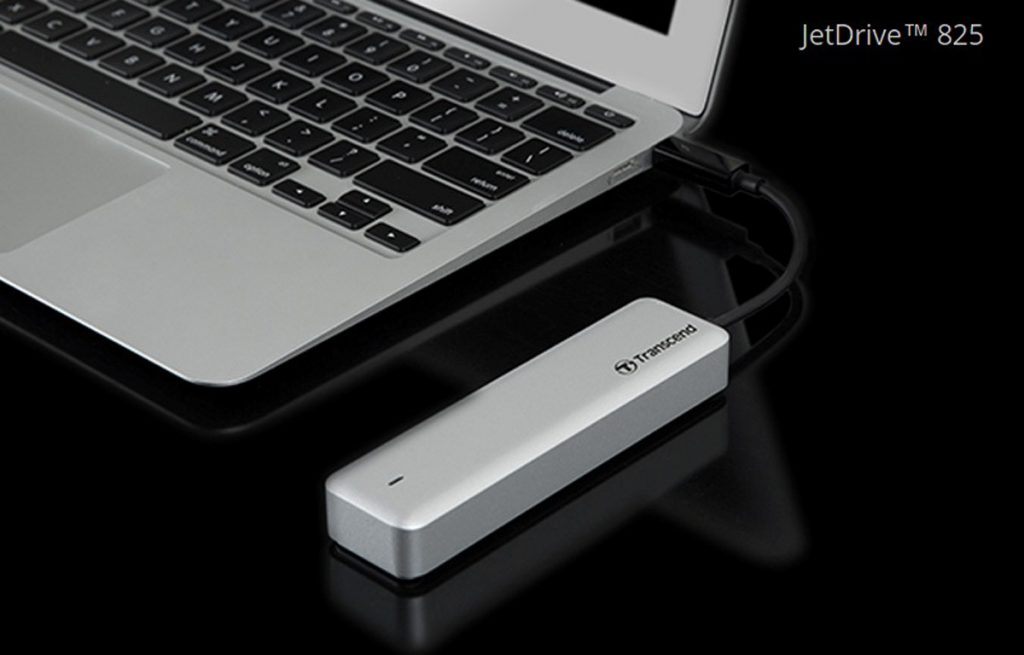 Transcend JetDrive 825 Thunderbolt SSD For Mac - Fast Transfer Speeds While Being Portable! 26
