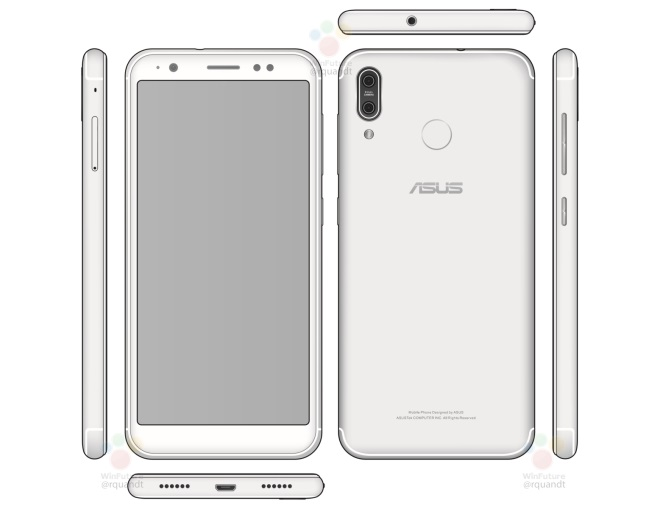 [LEAKED] ASUS ZenFone 5's design appears online; vertical dual camera, 18:9 display 20