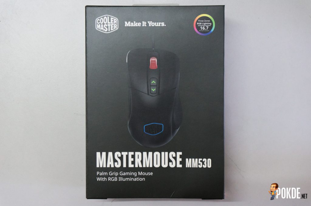 MasterMouse MM530 gaming mouse review; a top-grade sensor in a familiar shell 19