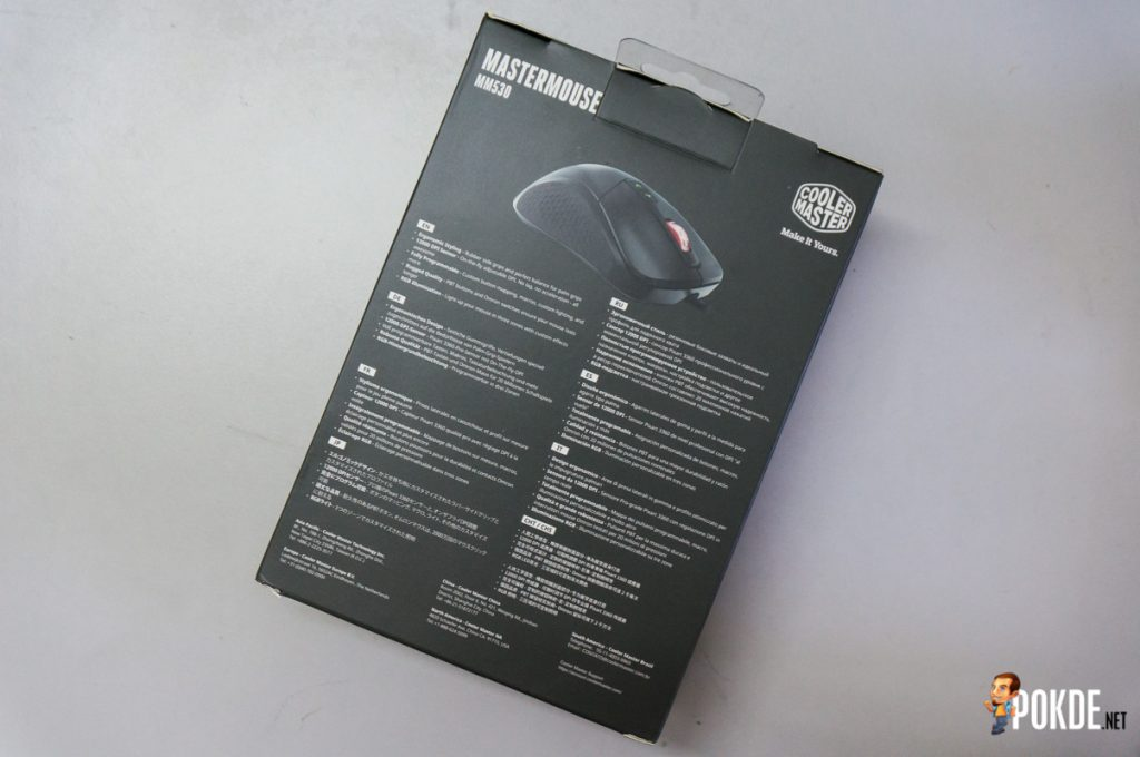 MasterMouse MM530 gaming mouse review; a top-grade sensor in a familiar shell 20