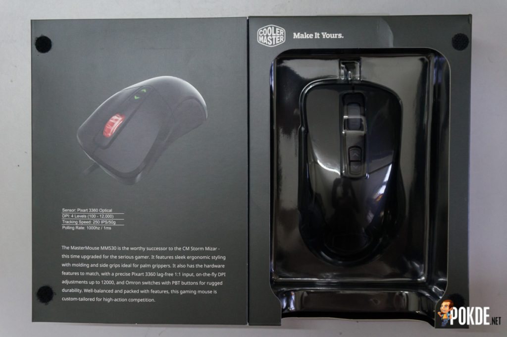 MasterMouse MM530 gaming mouse review; a top-grade sensor in a familiar shell 21