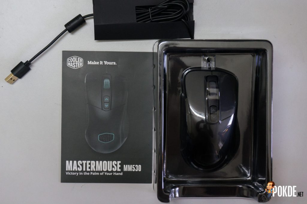 MasterMouse MM530 gaming mouse review; a top-grade sensor in a familiar shell 22