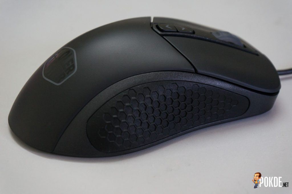 MasterMouse MM530 gaming mouse review; a top-grade sensor in a familiar shell 25