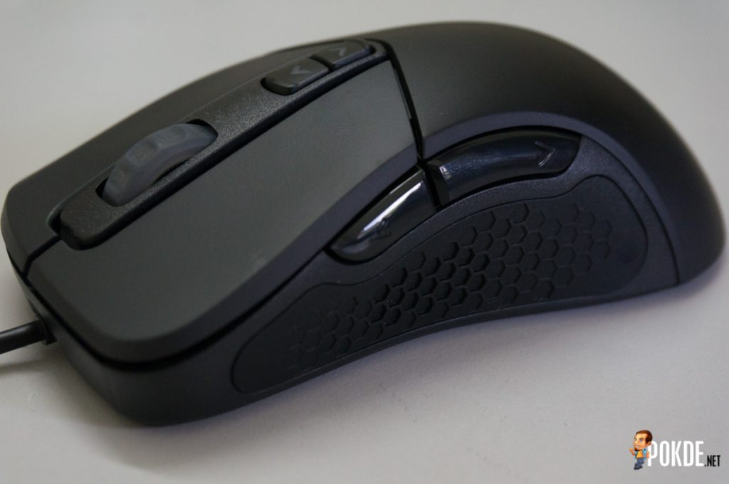 MasterMouse MM530 gaming mouse review; a top-grade sensor in a familiar shell 24