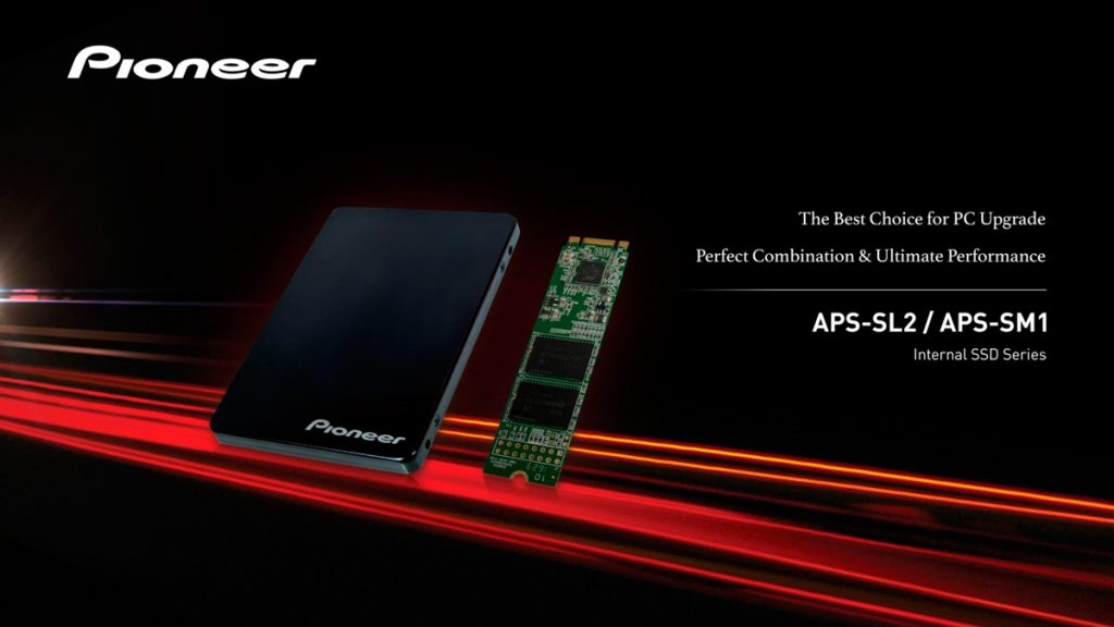 Pioneer (that audio brand) gets into SSD business; Announces 2 models of TLC and SLC SSDs 21
