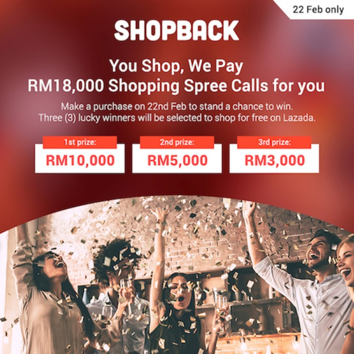 Shopback To Hold You Shop We Pay Contest - Celebrating Their Anniversary With RM18000 For You To Win! 23