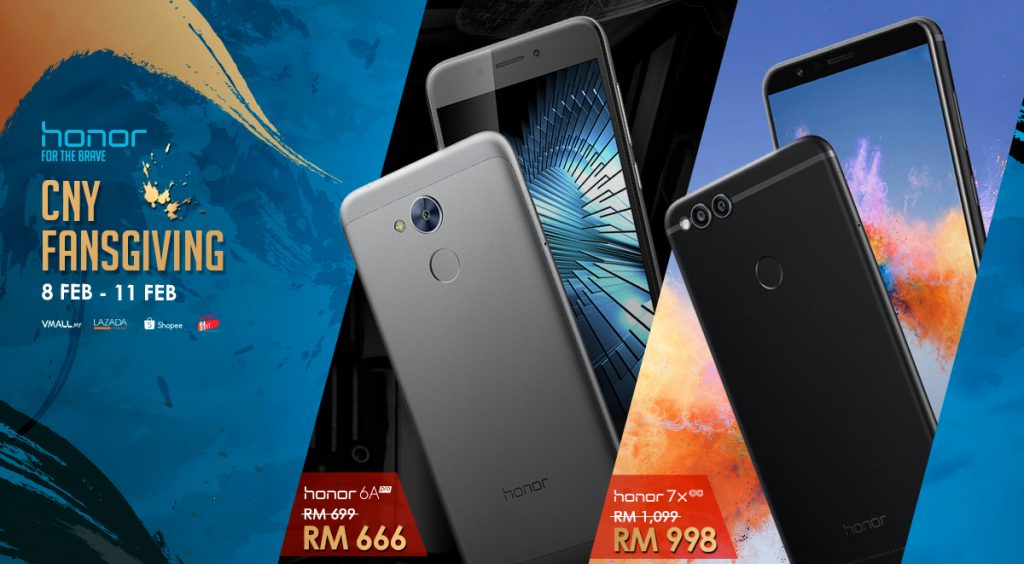 honor Chinese New Year Fansgiving - Deals From As Low As RM666! 21