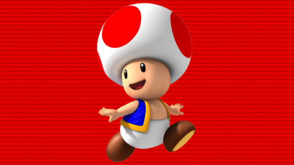 Is That His Head or is Toad Wearing a Hat?