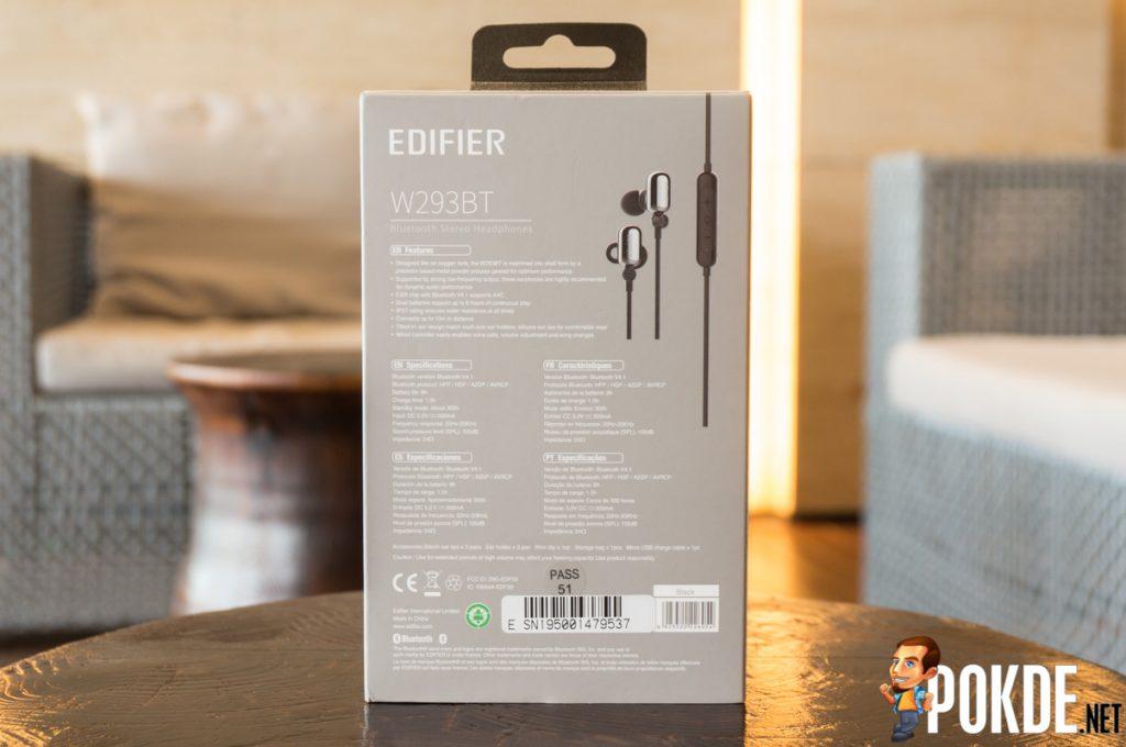 Edifier W293BT Bluetooth earphones review — no music no life? 19