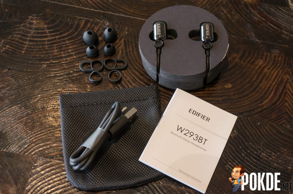 Edifier W293BT Bluetooth earphones review — no music no life? 22
