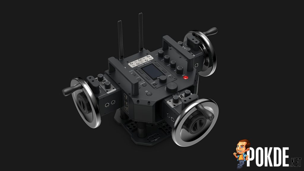 DJI reveals Master Wheels and Force Pro at NAB 2018 — the wet dreams of filmmakers? 22