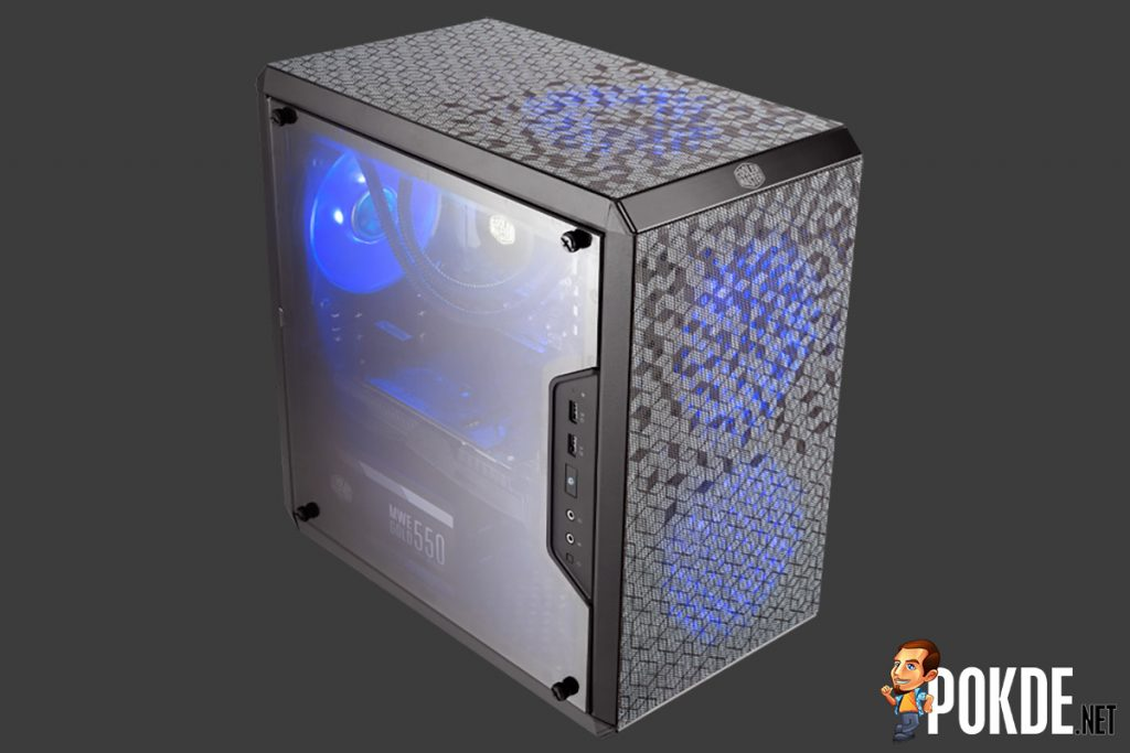These are some pretty microATX cases — Cooler Master introduces MasterBox Q300 series! 22