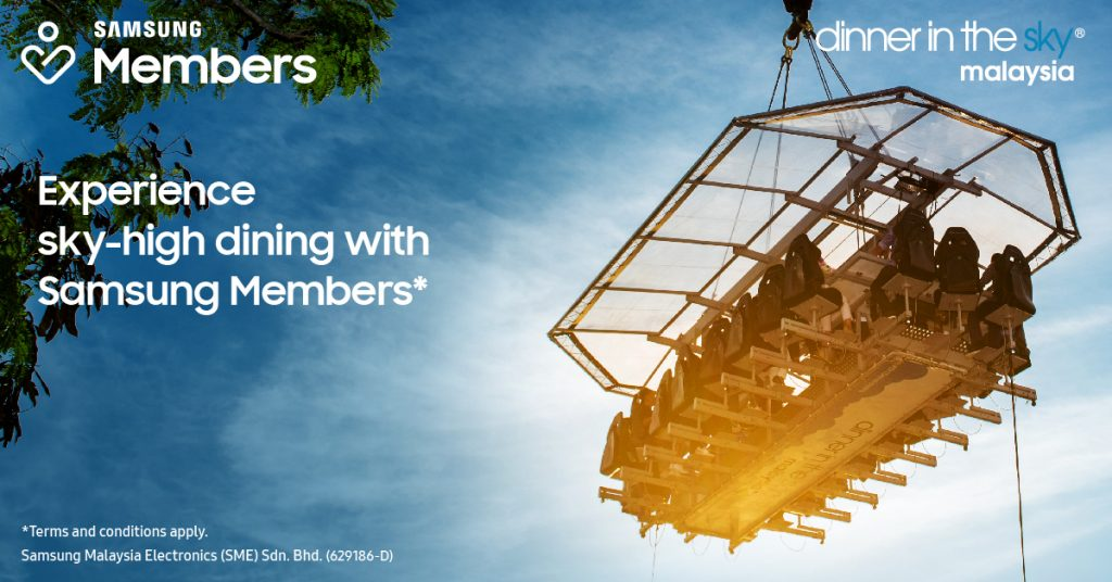 Samsung Members Can Dine In The Sky - Right In The Heart Of Kuala Lumpur! 18